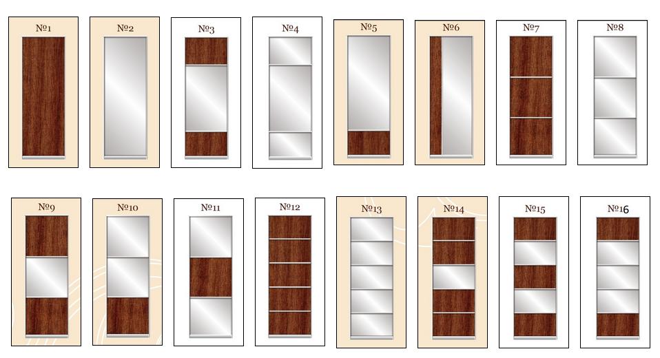 Как сделать двери для шкафа купе
