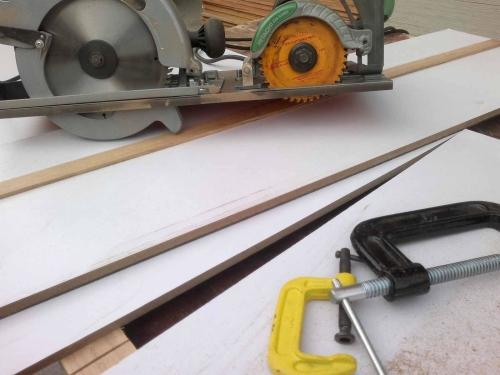 Распилка материалов для мебели